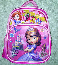Портфель с принцессой школьный рюкзак с ортопедической спинкой Принцесса София