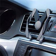 Автомобильный держатель для телефона ROCK AutoBot M vent car holde, магнитное крепление в машину, фото 3