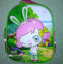 """Яркий школьный рюкзак с 3D """"Аниме"""" 35*30"""