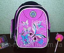 Стильный школьный рюкзак с ортопедической спинкой