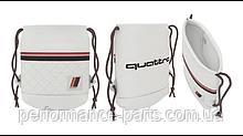 Сумка-рюкзак Audi Heritage Draw String Bag, offwhite, артикул 3151900100