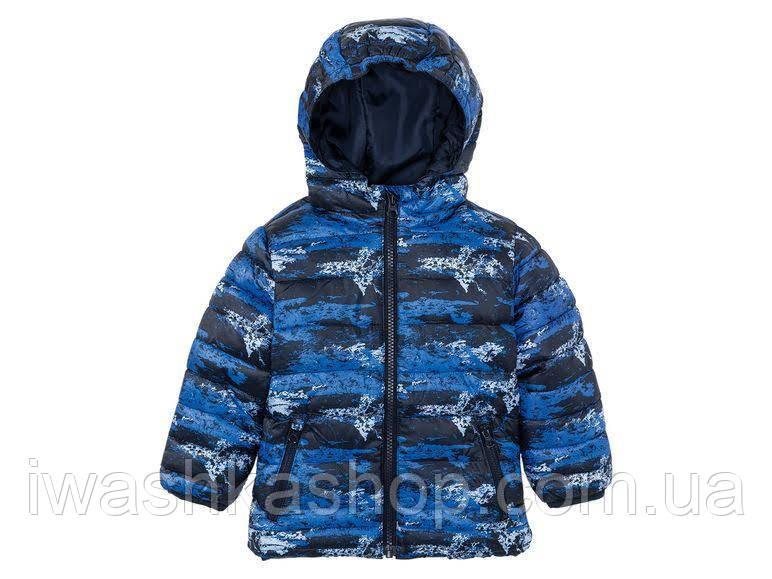 Влаго и ветрозащитная куртка весна - осень на мальчика 3 - 4 лет, р. 104, Lupilu