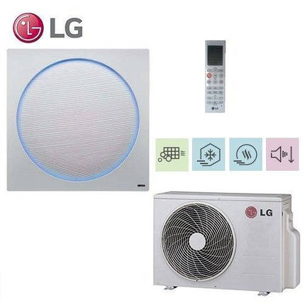 Кондиционер- LG Inverter Artcool Stylist (-15°C) A09IWK/A09UWK, фото 2