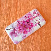 """Чехол для Samsung Galaxy J320 /  силиконовый чехол на Самсунг J3 """"Цветы"""""""