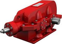 Редуктор КЦ2-750 коническо-цилиндрический трехступенчатый