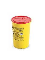 Одноразовый контейнер для сбора игл и медицинских отходов (Италия)