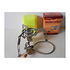 Пальник газовий з п'єзопідпалом, зі шлангом Tramp TRG-010. Горелка туристическая, фото 2
