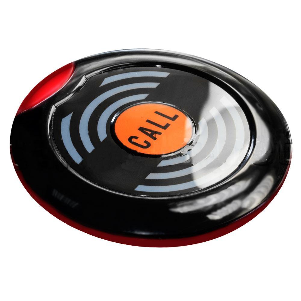 Кнопка вызова официанта НСМ-100 Recs черная