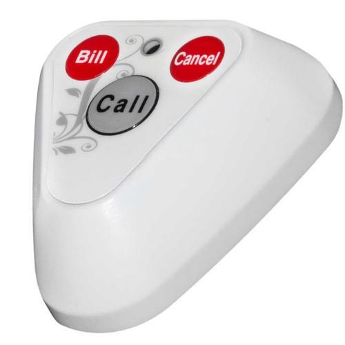 Мультифункциональная кнопка вызова официанта и персонала R-133 White Recs USA