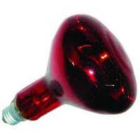 Лампа рефл ІКЗК 175Вт Е27 червона Іскра в ІНД.УП. (з перевiркою)  (сезонний товар, без повернення)
