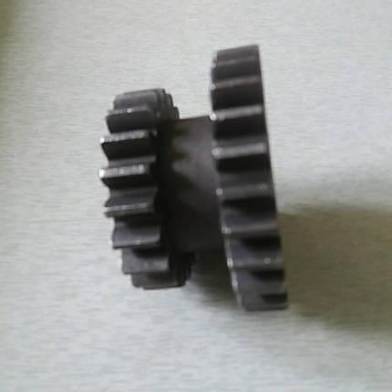 Шестерня промежуточная задней передачи z-26/20 КПП мототрактора 12-15 лс, фото 2