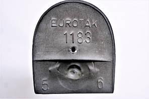 Каблук женский пластиковый 1183 р.1-3  h-6,8-7,3 см., фото 2