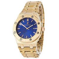 Часы наручные Audemars Piguet Royal Oak Quartz Gold-Blue