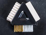 Ластик+щетка для чистки замши, ОМ-1203