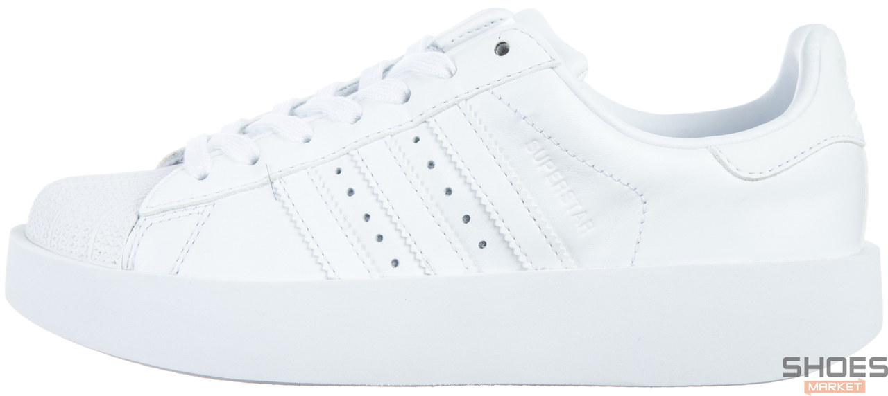 ed4f961fb46e Женские кроссовки Adidas Superstar Bold W Ftwr White/Core Black BA7668