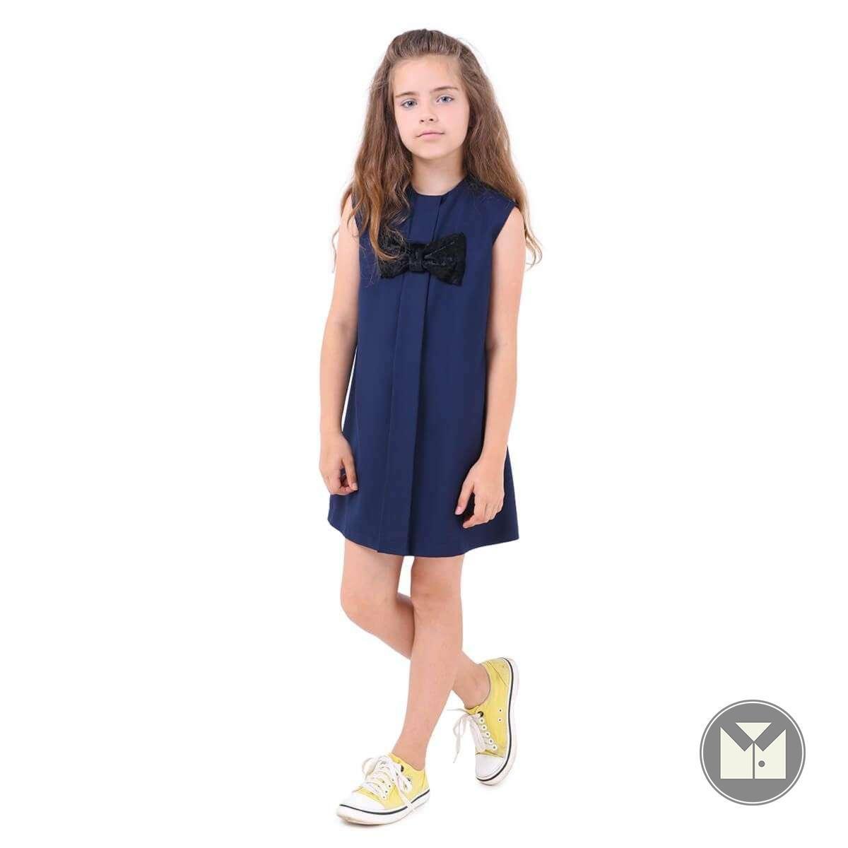 Сарафан MANNY (синий) 6-12 лет