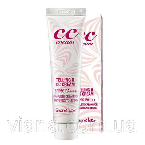 Идеальное личико с Secret Key Telling U CC Cream SPF50