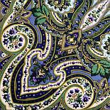 Золота клітка 1826-12, павлопосадский вовняну хустку з шовковою бахромою, фото 5