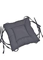 Подушка для стула DavLu 40х40 см темно-серая (P-501)