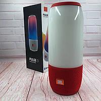 Портативная колонка  Bluetooth Колонка JBL Pulse 3 Red