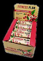 Упаковка батончиков Vale Fitness Plan Muesli Bar Клюква-вишня 12 шт х 30 г