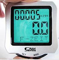 Вело компьютер с подсветкой SUNDING SD-507 велокомпьютер спидометр
