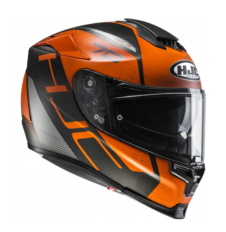Мотошлем Hjc RPHA-70 Vias (Black Orange)