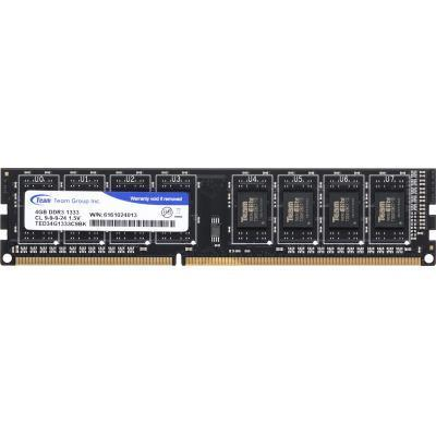 Модуль памяти DDR3 4GB 1333 MHz Team Elite (TED34G1333C901) .