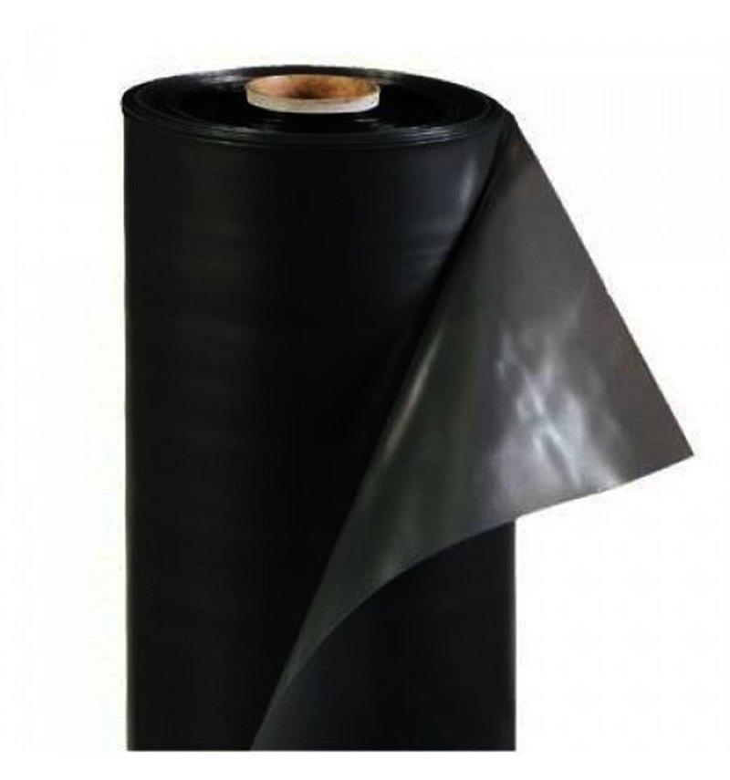 Пленка чёрная полиэтиленовая строительная 3x100м 40 мкм