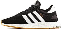 Мужские кроссовки Adidas Iniki I-5923 Runner Black White BY9727, Адидас Иники Ранер I-5923