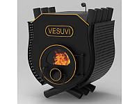 Печь булерьян с плитой Vesuvi Тип 03 + защитный кожух