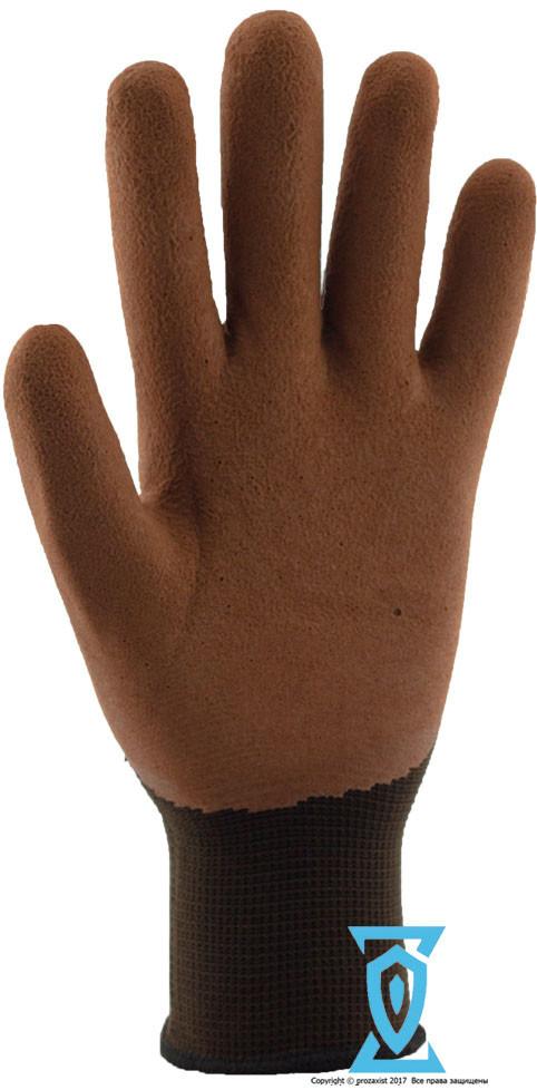 Перчатки рабочие покрытые вспененным латексом  #730