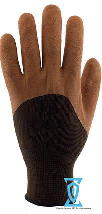 Перчатки рабочие покрытые вспененным латексом  #730, фото 2