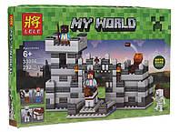 Конструктор My World Средневековая Крепость Lele 33006