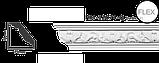 Карниз потолочный с орнаментом Classic Home New  HM-12074 лепной декор из полиуретана,, фото 2