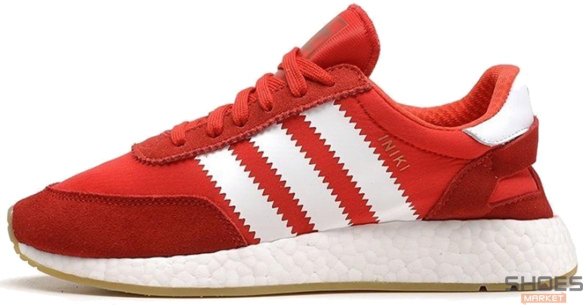 Мужские кроссовки Adidas Iniki I-5923 Runner Boost Red BY9728, Адидас Иники Ранер I-5923