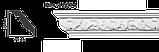 Карниз потолочный с орнаментом Classic Home New  HM-12074Q лепной декор из полиуретана,, фото 2