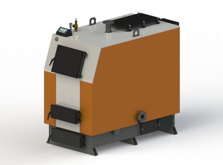 Твердотопливный котел Kotlant КВ-350 с автоматикой