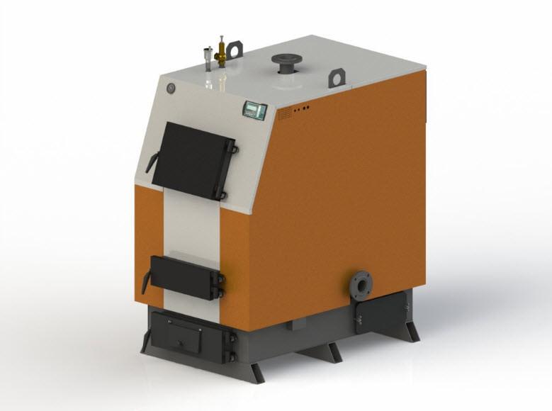 Твердотопливный котел Kotlant КВ-98 с автоматикой zPID