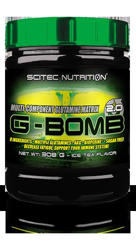 Глютамин Scitec Nutrition G-Bomb 2.00 (500 г) скайтек г-бомб ice tea