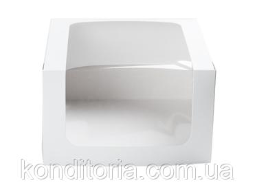 Коробка для торта 22,5*22,5*12,5 см