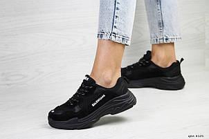 Женские,подростковые кроссовки Balenciaga(Баленсиага),черные, фото 2