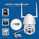 Внешняя поворотная IP WiFi камера Unitoptek XMW-N02  1080P Onvif.  iCSee, фото 5