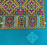 Щелкунчик 827-12, павлопосадский шарф шелковый крепдешиновый с подрубкой, фото 5