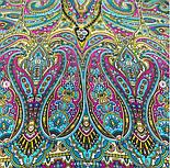 Щелкунчик 827-12, павлопосадский шарф шелковый крепдешиновый с подрубкой, фото 4
