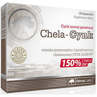 Витамины и минералы OLIMP Chela-Cynk (30 капс) олимп чела цинк