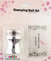 Набір  для  стемпінга штамп і скрапер  STAMPING NAIL ART
