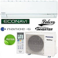Кондиционер- Panasonic Deluxe Inverter (-15°C) CS/CU-E9RKD