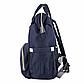 Рюкзак-Сумка для Мам Органайзер (L-16369) Синий, фото 2