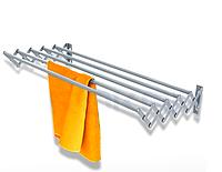 Сушилка для полотенец выдвижная 80 см